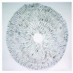 Teia, Resina cromada e Cobre, 220 x 220 x 100 cm, 2015