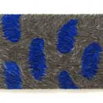 Marcos Coelho Benjamim Sem Título Zinco pintado em Azul 106 x 160 cm, 2006.