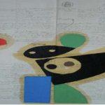 Júlio Villani Joana Angélica Óleo sobre Documentos Cartoriais 59 x 42 cm, 2009.