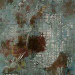 Hilal Sami Hilal Série Cartas Cobre/Corrosão, papel e Oxidação 65 x 51 cm, 2011