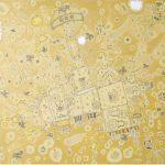 Rodrigo Godá O Passeio Acrílica Sobre Tela 90 x 90 cm, 2005.