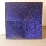Marcos Coelho Benjamim Quadrado Azul Objeto em zinco pintado em Azul 80 x 80 cm, 2005