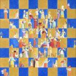 Luiz Fernando Borgerth Tabuleiro de Damas Acrílica sobre Tela 40 x 40 cm, 2005.