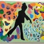 Maria Lynch, Sem Título, Acrílica sobre tela, 130 x 160 cm.