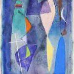 Gonçalo Ivo Noite Carioca Aquarela 31 x 23 cm, 2009.