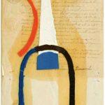Júlio Villani Dumensnil Óleo sobre documentos cartoriais 25 x 18 cm, 2008.