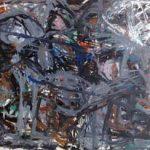 Nuno Ramos Sem Título Óleo sobre Tela 130 x 180 cm, 1985.