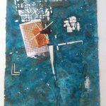Hilal Sami Hilal, Mão Boba, Cobre/Corrosão e Oxidação, 67 x 54 cm, 2012.
