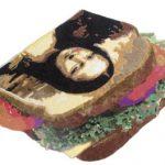 Camille Kachani Composição 8 (Sanduiche de Monalisa) 110 x 90 cm, 2006