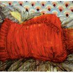 Adams Carvalho Faceless 23 Óleo Sobre Tela 60 x 100 cm, 2011.