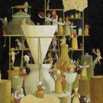Luiz Fernando Borgerth Pó pô o Pó Acrílica sobre Tela 30 x 40 cm, 2004.
