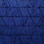 Marcos Coelho Benjamim Quadrado Azul Ferro, madeira e pedras pintadas em Azul 35 x 35 cm, 1997.