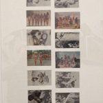 Anna Bella Geiger, Brasil Nativo – Brasil Alienígena, Fotografia – 18 cartões postais, 133 x 63 cm.