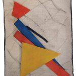 Arthur Luiz Piza, Sorge, Aquarela e colagem sobre papel Archê, 16,5 x 13 cm