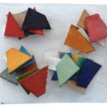 Arthur Luiz Piza, TM 11001, Aquarela e colagem sobre papel Tourchon, 11 x 13,5 cm