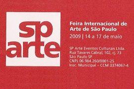 2009: SP-Arte – Feira Internacional de Arte de São Paulo