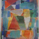 Gonçalo Ivo Rio Aquarela 23 x 32 cm.