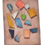 Arthur Luiz Piza, 499, Aquarela e Colagem, 11 x 8 cm