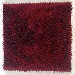 Marcos Coelho Benjamim, Quadrado Vermelho, Zinco oxidado pintado em Vermelho, 50 x 50 cm