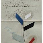 Júlio Villani, Mayny, Óleo sobre documentos Cartoriais, 25 x 18 cm, 2016