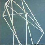 Cristal 2, Alumínio pintado, 250 x 150 x 140 cm