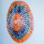 Mandala de Cores, 90 x 90 x 4 cm