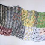 Plaquetas, Resina e Arame, 185 x 300 x 4 cm, 2015