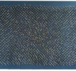 Rede Pontiaguda, Resina Cromada e Cobre, 96 x 195 x 5 cm, 2016