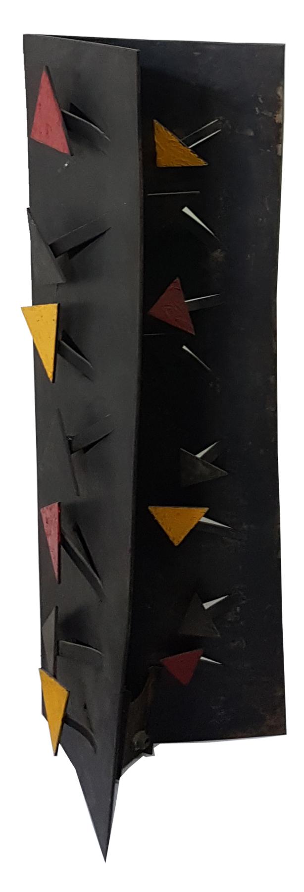 Arthur Luiz Piza, Torre, Aço pintado em acrílica, 50,5 x 16 x 16 cm