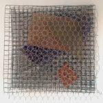 Arthur Luiz Piza, Sem Título, Arame galvanizado e zinco pintado, 28 x 28 x 8 cm