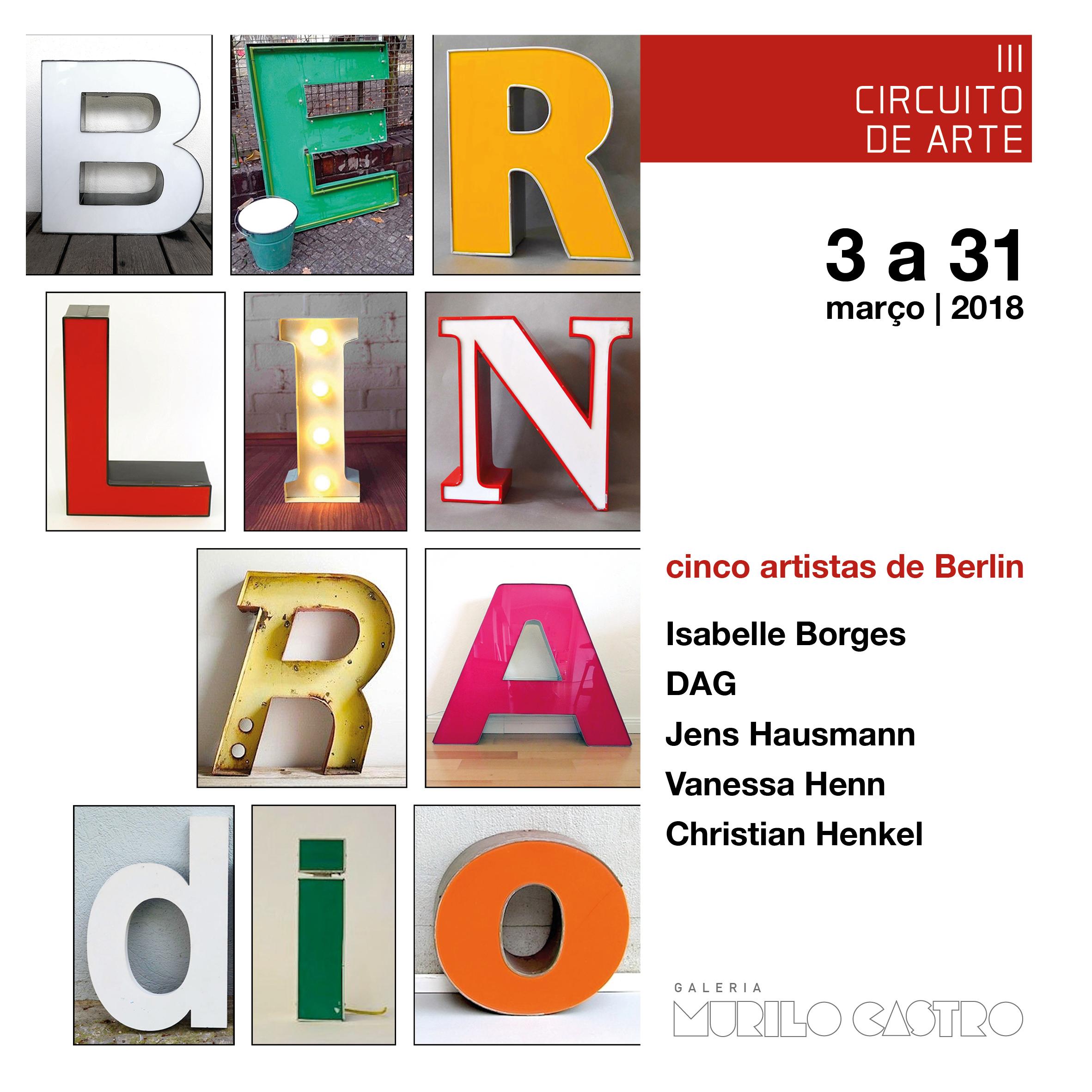 BERLIN RADIO - cinco artistas de berlin