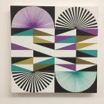 DAG, sem título, acrílica sobre tela, 50 x 50 cm, 2017