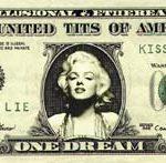 One Dream – Série moeda vigente, Fotografia Digital Sobre MDF, 28 x 65 cm, 2004