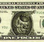 One Fucker – Série moeda vigente, Fotografia Digital Sobre MDF, 28 x 65 cm, 2004