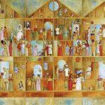 Palácio da Moda Acrílica s/ tela 40 x 60 cm.