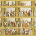 Vasos, Frascos, etc. Acrílica s/ tela 30 x 40 cm, 2003.