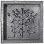 Fernando Lucchesi Árvore da Vida Folha de cobre 130 x 35 cm.