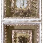 Fernando Lucchesi Divino em Alumínio (obra reproduzida no Brazilian Art III) Objeto em madeira pintada e montagem 40 x 40 cm, 2002.