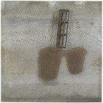 Marcos Coelho Benjamim Prateleira Zinco e madeira 20 x 50 x 10 cm.