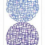 Composição 1 Acrílica s/ tela 100 x 60 cm.