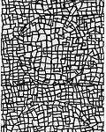 Composição em preto e branco 2 Acrílica s/ tela 180 x 60 cm.