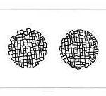 Composição em preto e branco 3 Acrílica s/ tela 60 x 180 cm.