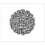 Composição em preto e branco 4 Acrílica s/ tela 60 x 70 cm.