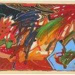 Luiz Áquila A Pintura Chama AST 80 x 110 cm, 1998