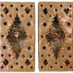 Fernando Lucchesi Par de Astrolábios Cobre 36 x 18 cm cada, 2002