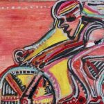 Rubens Gerchman Fast Bike OST 50 x 70 cm, sem data