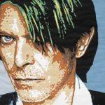 Camille Kachani David Bowie Papel Canson recortado 72 x 113cm, 2005
