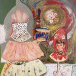 Mônica Barki Vestido em Pedaços AST 142 x 121cm, 1996