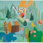 James Kudo Nostalgia Acrílica sobre tela 150 x 180 cm, 2008
