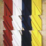 Sem título Madeira policromada 220 x 160 cm (políptico), 2004-5